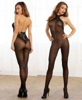 0263 Dreamgirl,  fishnet garter dress