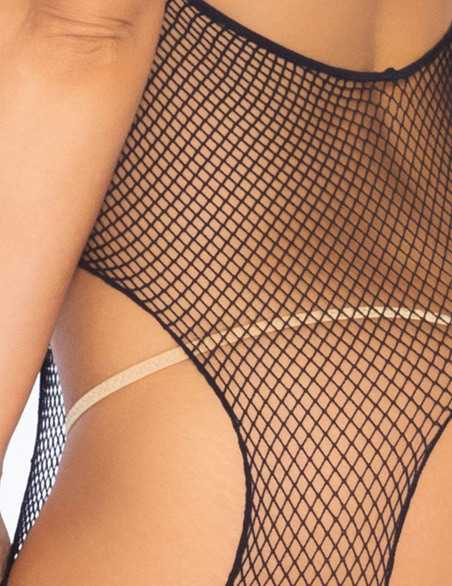 89031 Leg Avenue fishnet bodystocking