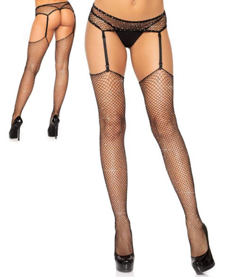 1944 Leg Avenue rhinestone stockings