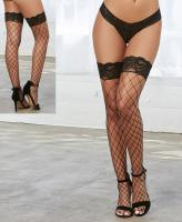 0115 Dreamgirl Fence net thigh highs