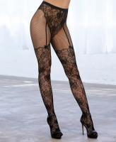 0346 Dreamgirl Lace fishnet pantyhose
