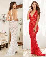 10131 Dreamgirl, Stretch lace gown