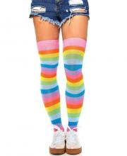 6600 Leg Avenue Acrylic neon thigh highs
