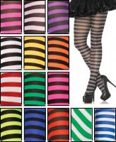 7100 Leg Avenue,  nylon striped tights.