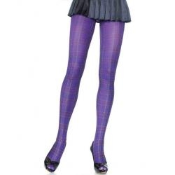 7726 Leg Avenue Opaque plaid tights