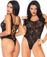89217 Leg Avenue lace thong teddy