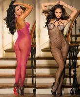 90405 Shirley All over fishnet body stocking